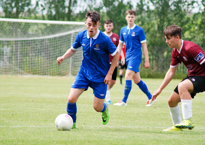 Shane Griffin Waterford FC U19 v Galway